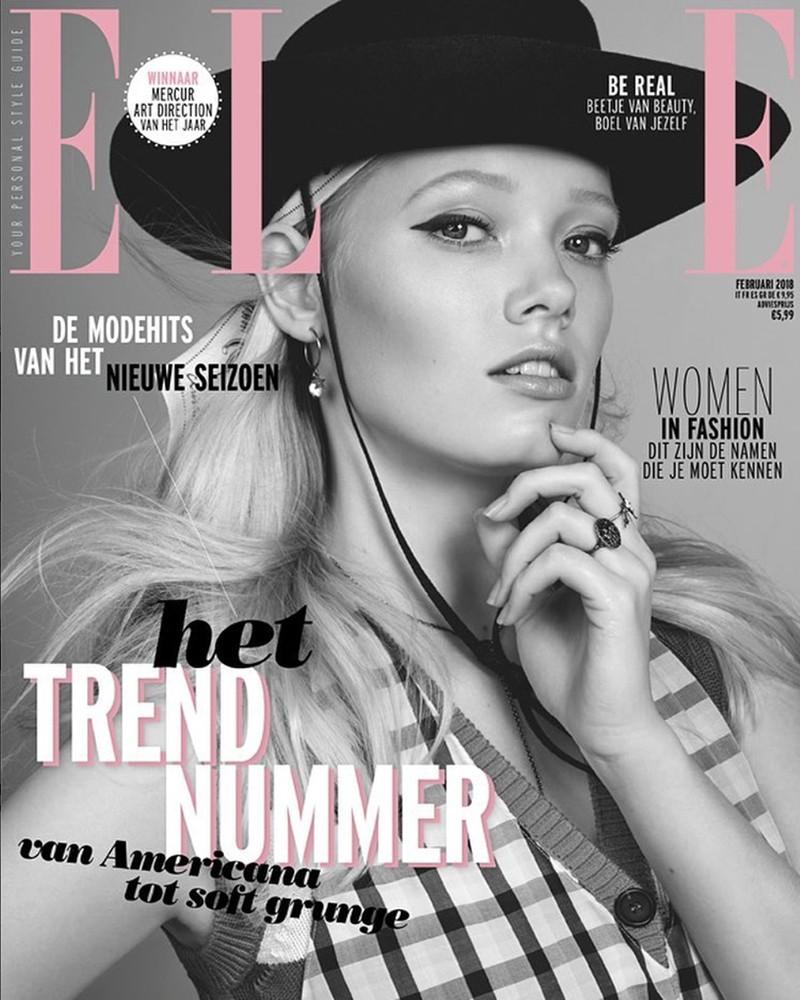 Cover ELLE Magazine 2018 – Fotograaf Jolijn Snijders, Assistent Max Kneefel